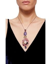 Sharon Khazzam - Multicolor One Of A Kind Joelle Necklace - Lyst