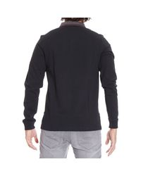 Fred Perry | Black T-shirt for Men | Lyst