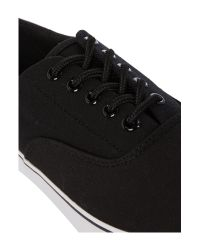 Blend | Black Lace Up Casual Trainers for Men | Lyst