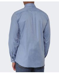 Vivienne Westwood | Blue Two Button Orb Twill Shirt for Men | Lyst