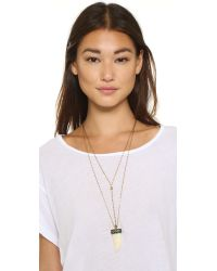 Vanessa Mooney - Metallic Times Comes Around Necklace - Gold Multi - Lyst