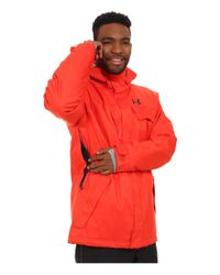 Under Armour | Red Ua Cgi Hacker Jacket for Men | Lyst