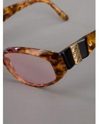 Nina Ricci - Brown Tortoiseshell Sunglasses - Lyst