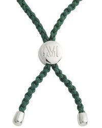 Monica Vinader - Metallic Fiji Hope Sterling Silver Bracelet - Lyst