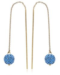 Isabel Marant - Blue The Party Earrings - Lyst