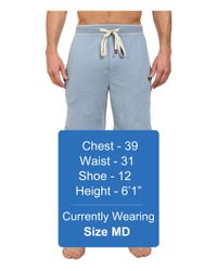 Original Penguin | Blue Comfortable Soft Knit Sleep Shorts for Men | Lyst