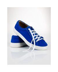Polo Ralph Lauren - Blue Drew Lace-up Sneaker - Lyst