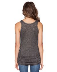 Saint Grace - Black Holly Muscle Tank - Lyst