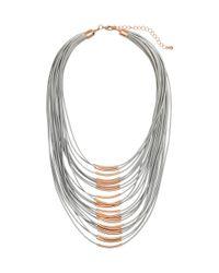 H&M   Metallic Necklace   Lyst