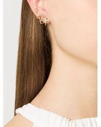 Venyx - Metallic 'lady Australis' Diamond Ear Cuffs - Lyst