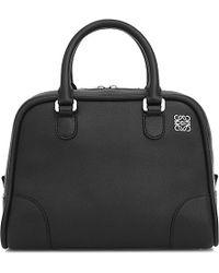Loewe | Black Amazona 75 Small Bag | Lyst