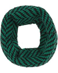 The North Circular | Green Furze Alpaca Snood | Lyst