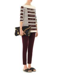 Marc Jacobs - Blue Breton Sequin Stripe Sweater - Lyst