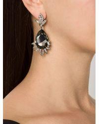 Oscar de la Renta | Green Triple Octagon Clip-on Earrings | Lyst