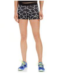 Nike | Gray Pro Dri-fit Giraffe-print Shorts | Lyst