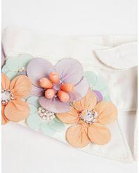 ASOS | White Embellished Collar | Lyst