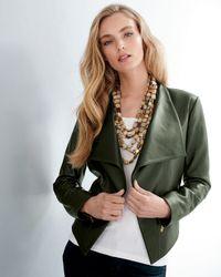 Viktoria Hayman | Black Oval Mother-of-pearl Stretch Bracelet | Lyst