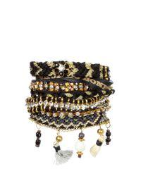 Hipanema | Black Bracelet - Onyx | Lyst