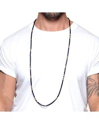 Lulu Frost | Black George Frost G. Frost Dbl Wrap Morse Necklace for Men | Lyst