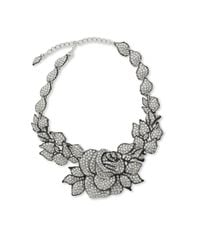 Kenneth Jay Lane | Metallic Rose Necklace | Lyst