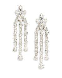 Kate Spade | Metallic Catching Lights Chandelier Earrings | Lyst