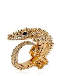 Giuseppe Zanotti - Metallic Crocodile Bracelet - Lyst