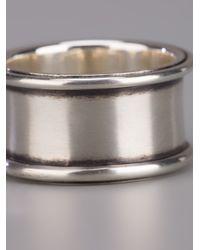Ann Demeulemeester - Metallic Silver Ring for Men - Lyst