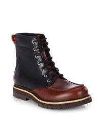 UGG | Brown Noxon Waterproof Boots for Men | Lyst
