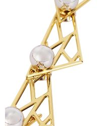 Joomi Lim | Metallic Vertigo 18Kt Gold-Dipped Necklace | Lyst