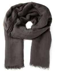 Rick Owens - Brown 'sandy' Scarf for Men - Lyst