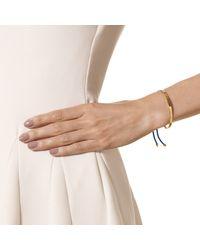 Monica Vinader | Metallic Fiji 18ct Rose Gold-plated Friendship Bracelet | Lyst