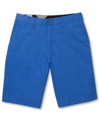 Volcom | Blue Frickin Chino Shorts for Men | Lyst
