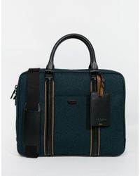 Ted Baker - Blue Mysuit Document Bag for Men - Lyst