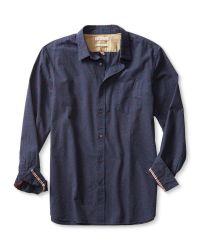 Banana Republic | Blue Heritage Crest Shirt for Men | Lyst