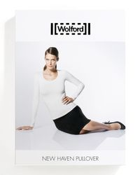 Wolford - White New Haven Seamless Sweater - Lyst