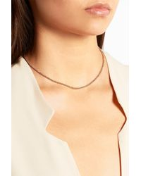 Carolina Bucci - Pink 18-Karat Rose Gold Necklace - Lyst