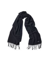 Pink Pony - Black Cashmere-lambswool Scarf - Lyst