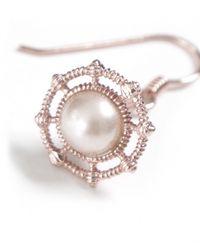 Vivienne Westwood - Pink Isolde Pearl Drop Earrings - Lyst