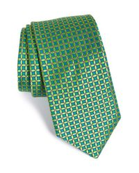 Ted Baker | Green 'parquet' Silk Tie for Men | Lyst