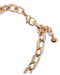 Lulu Frost | Metallic Gold-plated Lumen Necklace | Lyst