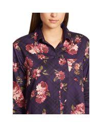 Ralph Lauren | Multicolor Cotton Long-sleeve Sleep Shirt | Lyst