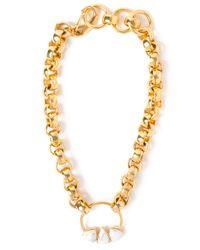 Lizzie Fortunato - Metallic Rodeo Necklace - Lyst