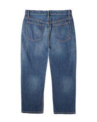 Marc By Marc Jacobs - Blue Cropped Boyfriend Jeans - Lyst