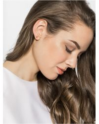 BaubleBar - Metallic Gold Pyramid Ear Crawlers - Lyst