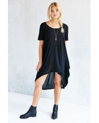 Project Social T | Black Brooks Tunic Top | Lyst