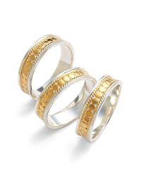 Anna Beck | Metallic 'gili' Stackable Band Rings | Lyst