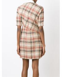 Carven - Natural Robe Drap Dress - Lyst