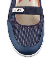Anne Klein | Blue Watchful Slip-On Sneakers | Lyst