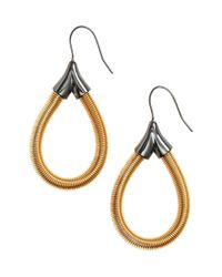 H&M | Metallic Metal Earrings | Lyst