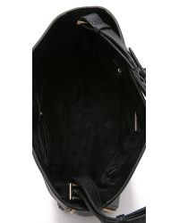 Tory Burch | Robinson Hobo Bag - Black | Lyst
